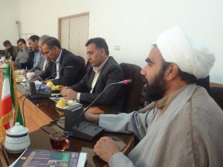 دیدار اعضای شورا اسلامی شهر و شهردار پلدختر با امام جمعه و فرماندار به مناسبت روز شوراها