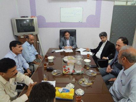 برگزاری اولین جلسه ستاد بحران شهرداری پلدختر