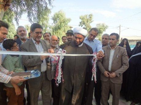 افتتاح بوستان بانوان شهر پلدختر