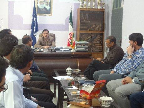 برگزاری جلسه مدیریت بحران شهر پلدختر