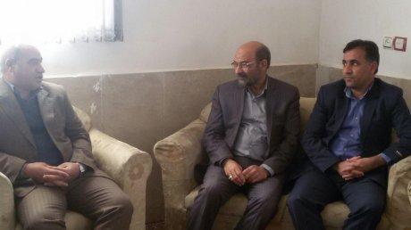 دیدار دکتر بصیری پور رئیس شورای عالی استان های کشور با اعضای شورای شهر و شهردار