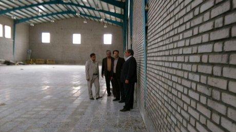 بازدید مدیرکل مدیریت بحران استان لرستان از پروژه های در دست اقدام شهرداری پلدختر