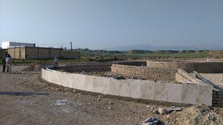 ادامه ساخت میدان امید شهر پلدختر