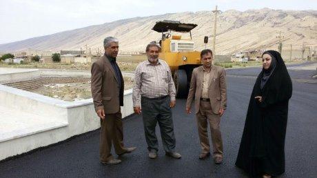 پروژه بهسازی و آسفالت محور میدان امید وخيابان رسالت جنوبی