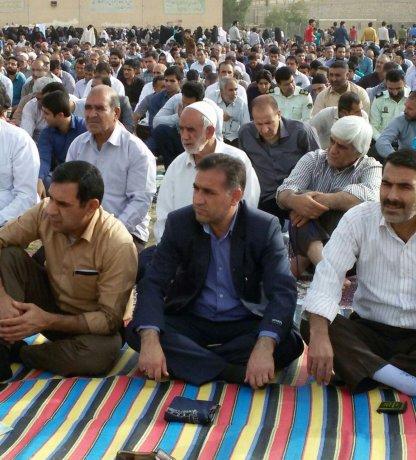 نماز عید فطر شهر پلدختر