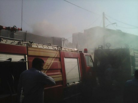 مهار آتش سوزی منزل مسکونی در پلدختر با تلاش ماموران زحمتکش آتش نشانی