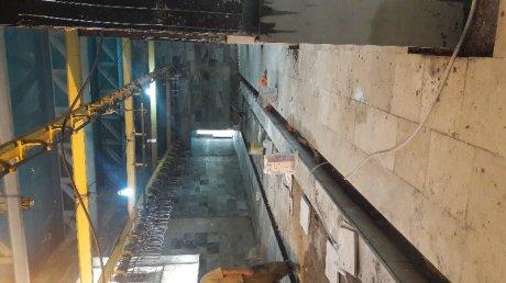 مرمت و بازسازی کشتارگاه شهرداری پلدختر