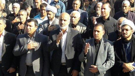 حضور پرسنل شهرداری و اعضای شورای شهر در مراسم اربعین