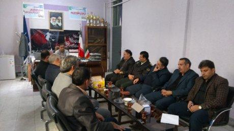جلسه ستاد بحران شهر پلدختر