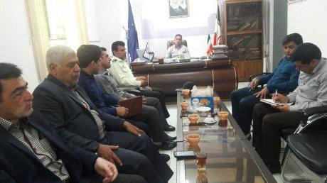 جلسه کمیته اتلاف با حضور ادارات مربوطه در شهرداری پلدختر برگزار شد