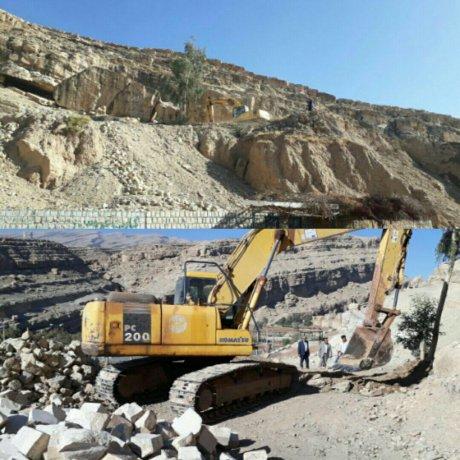ادامه توسعه پارک صخره ای پلدختر توسط شهرداری
