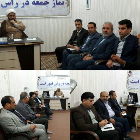 جلسه ساماندهی گلزار شهدا با حضور اعضای شورای اسلامی شهر، بخشدار مرکزی و هیئت امنا